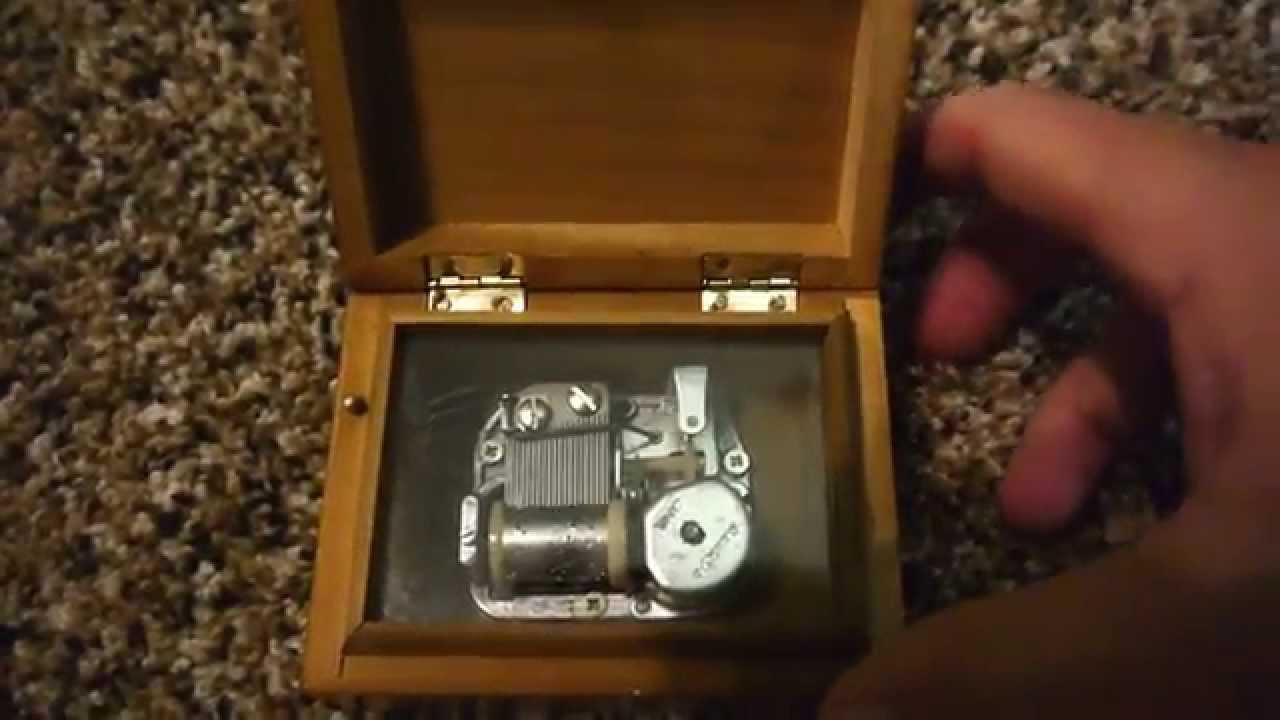 Sankyo Music Box Made In Japan Youtube