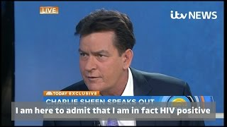 Charlie Sheen Admitting he is HIV Positive to Matt Lauer on Today Show