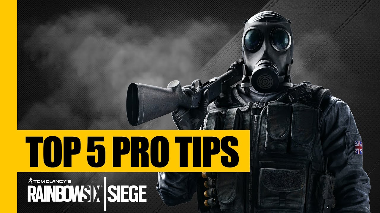 Rainbow Six Siege TOP 5 Pro TIPS  TRICKS Strategy Guide Tutorial  YouTube