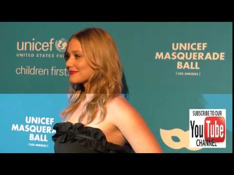 Julianna Guill at the 4th Annual UNICEF Masquerade Ball at Clifton's Cafe in Los Angeles