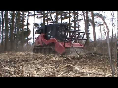 Clearing Land -Forestry Mulcher - Mulching Machine - 148 - Fecon - Combo