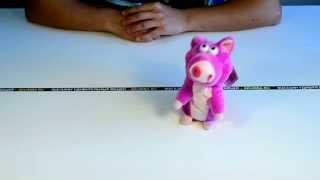 """Идеи подарков: Говорящая """"Свинка - повторюшка"""" (видео обзор)"""