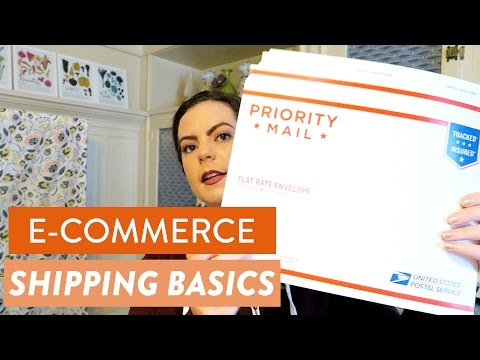 Never Wait at the Post Office Again! - E-commerce Shipping Basics