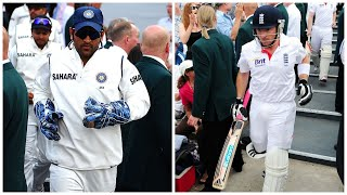 MS Dhoni RECALLS Ian Bell | Spirit of the Decade | ENG vs IND 2011 | 2nd Test Nottingham