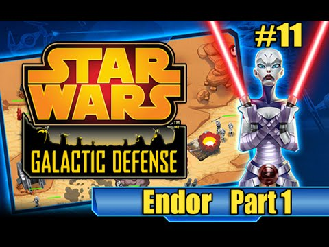 Star Wars Galactic Defense - #11 Endor Part 1 (Let's Play SWGD)
