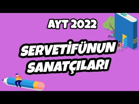 Servetifünun Sanatçıları   AYT Edebiyat 2022 #hedefekoş
