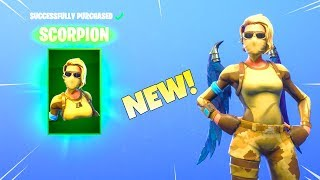 Nouveau! SCORPION et ARMADILLO SKINS! (Mise à jour du nouvel article shop) Fortnite Bataille Royale