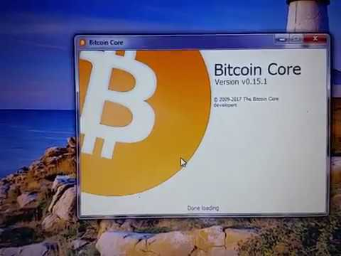 2018 03 04 How To Use The Bitcoin Core Wallet Part 1