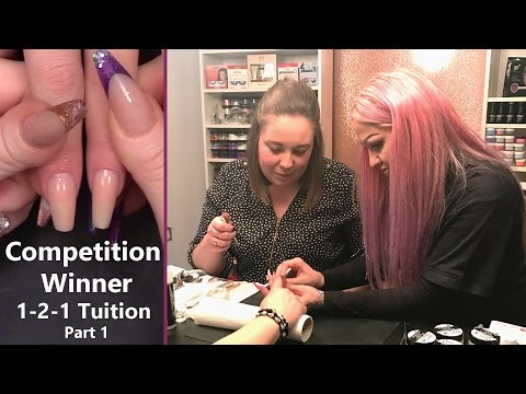Competition Winner - 1-2-1 Nail Tuition with Kirsty Meakin - Part 1