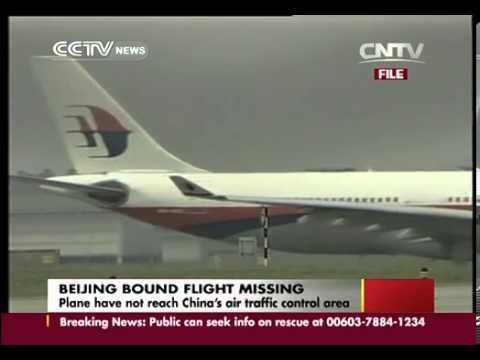 Malaysia Airlines plane loses contact  239 on board