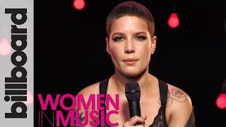 Halsey Backstage at Billboard Women in Music 2016 | INSPIRE Ep. 9