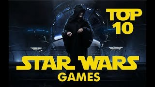 Top 10 -  Best Star Wars games