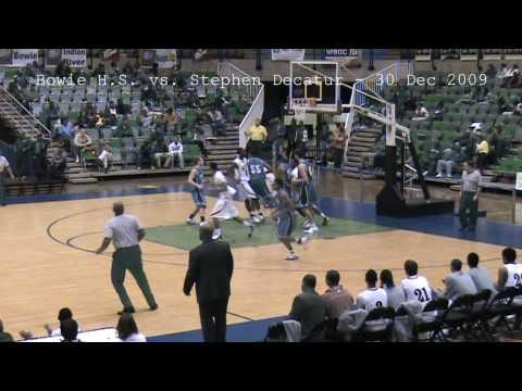 Bowie High School BULLDOGS Basketball vs. Stephen Decatur - 30 DEC 2009