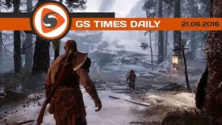 GS Times [DAILY]. God of War, Side Effect, Unity 5