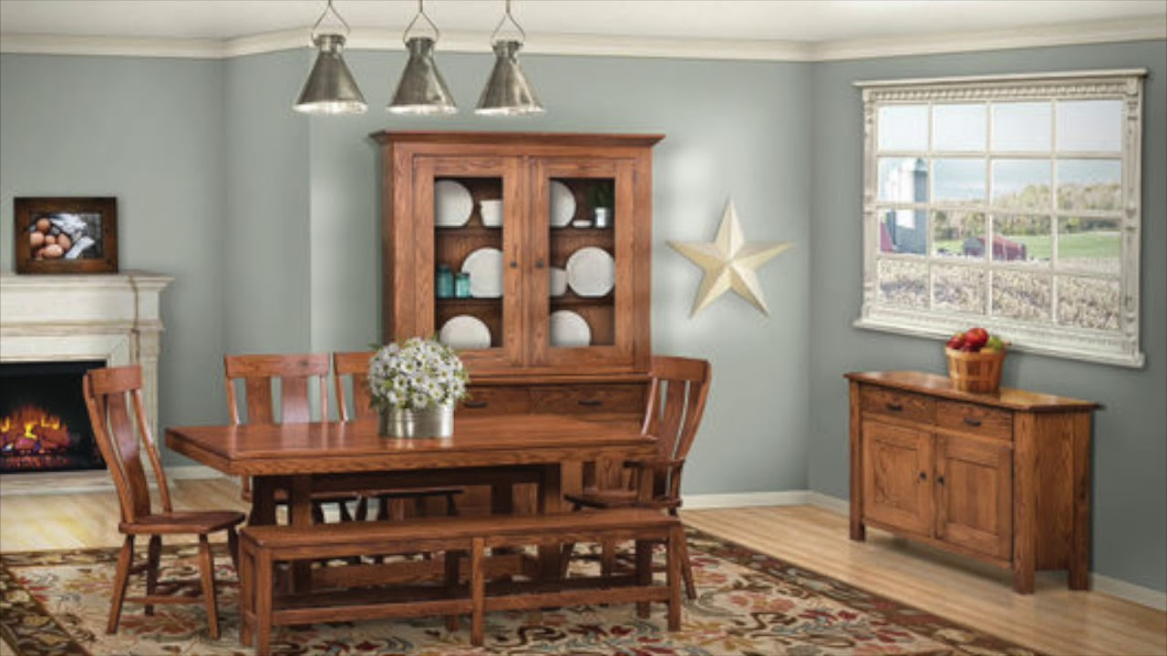 Kings Kountry Korner -Amish Furniture Lancaster PA - YouTube