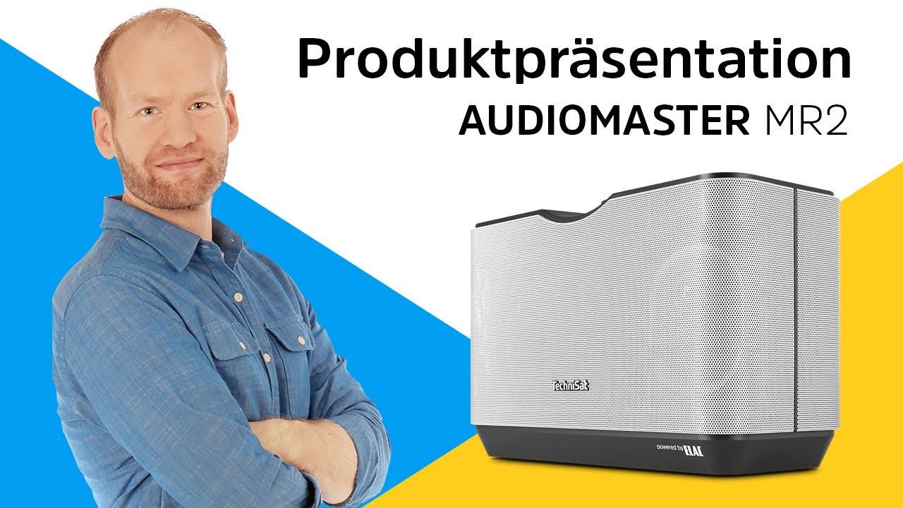 Video: AUDIOMASTER MR2 | Wireless-Stereo-Speaker | TechniSat