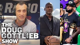 Doug Gottlieb Disputes Nick Wright's 'Case Against Michael Jordan' Rant