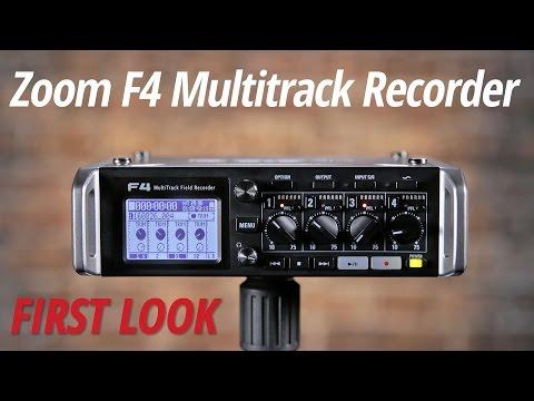 F4 MultiTrack Field Recorder | Zoom