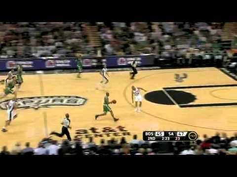 2010-11 Boston Celtics VS San Antonio Spurs (Rondo Is Back!)