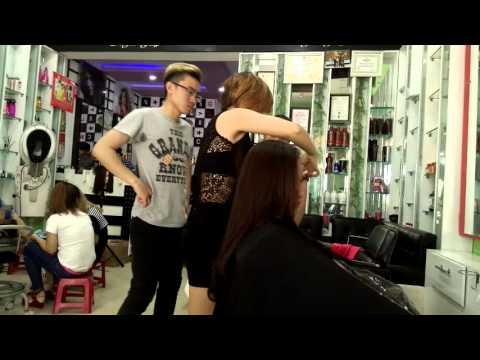 Dạy cắt tóc nữ cơ bản đẹp, Day cat toc Online