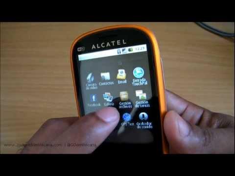 Alcatel OneTouch 890 Desempaque
