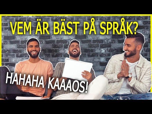 VEM ÄR BÄST PÅ SPRÅK - CHALLENGE