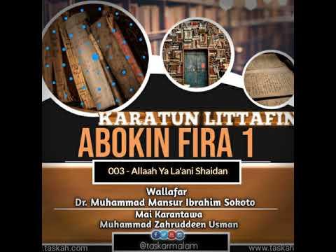 003. Allah Ya La'ani Shaidan -- Littafin Abokin Fira 1