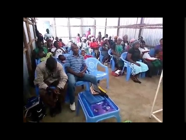 Adults & Childen Edified in the Lord in the Kibera Slum