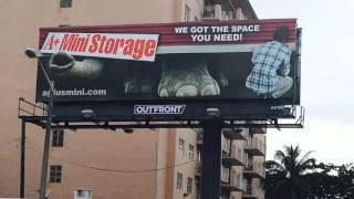 A billboard ad concept