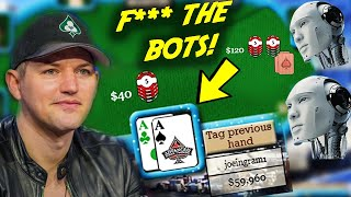 LEARNING TO CRUSH POKER BOTS......