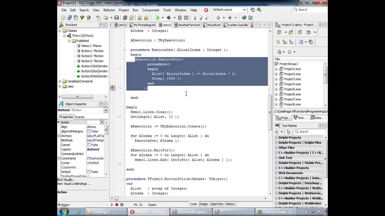 Oct 17, 4pm - Functional Programming in Delphi XE5 - YouTube