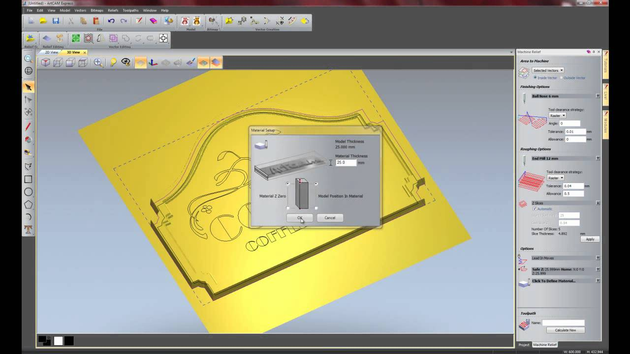 BuildYourCNC - Delcam ArtCAM CADCAM Software