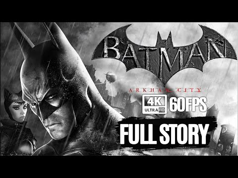 BATMAN: ARKHAM CITY All Cutscenes (Game Movie) 4K 60FPS Ultra HD