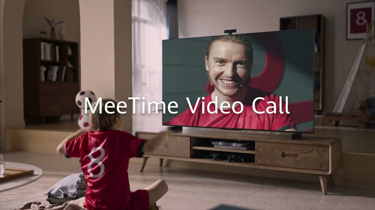 Enjoy MeeTime video calls on the Vision S!