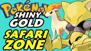 Pokémon Shiny Gold (Detonado - Parte 24) - Zona do Safari