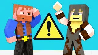 Make It Safe [Minecraft Animation] ★ Dumb & Dumber Shorts