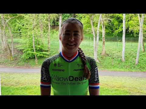 Hoog bezoek voor Prominententoer: profs WaowDeals Pro Cycling rijden mee