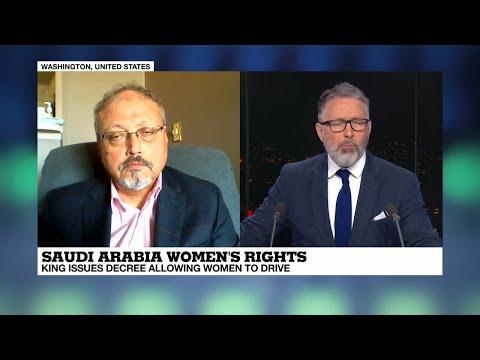 Jamal Khashoggi on FRANCE24