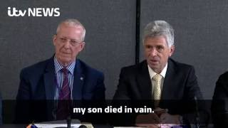 'My son died in vain': Father of Iraq War soldier