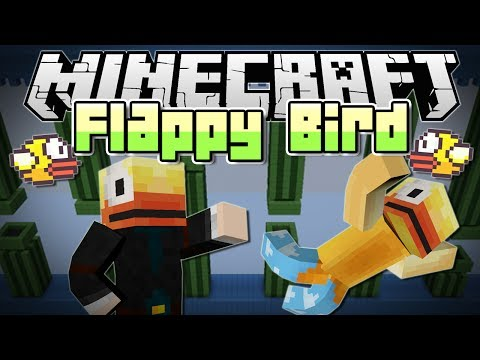 Minecraft | FLAPPY BIRD MINIGAME! (Get Your RAGE On!) | Mini Game