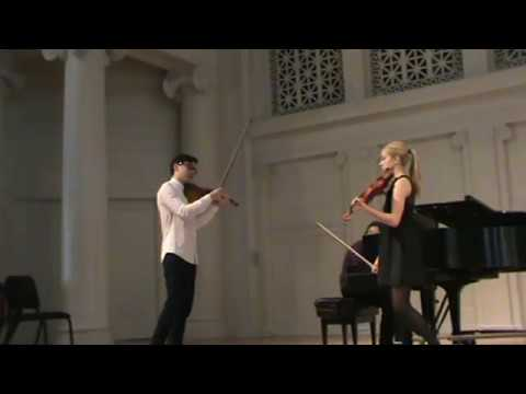Ben Bielman Masterclass - Serena Harnack 16, Tchaikovsky 1st mvmt