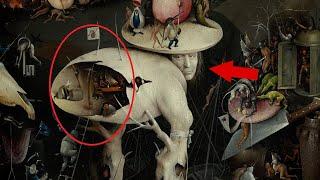 Странные существа на картинах великих художников