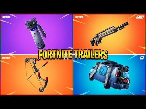 *NEW* All Fortnite Trailers! 🔥Shadow Bomb, Infantry Rifle, Reboot Van🔥 |