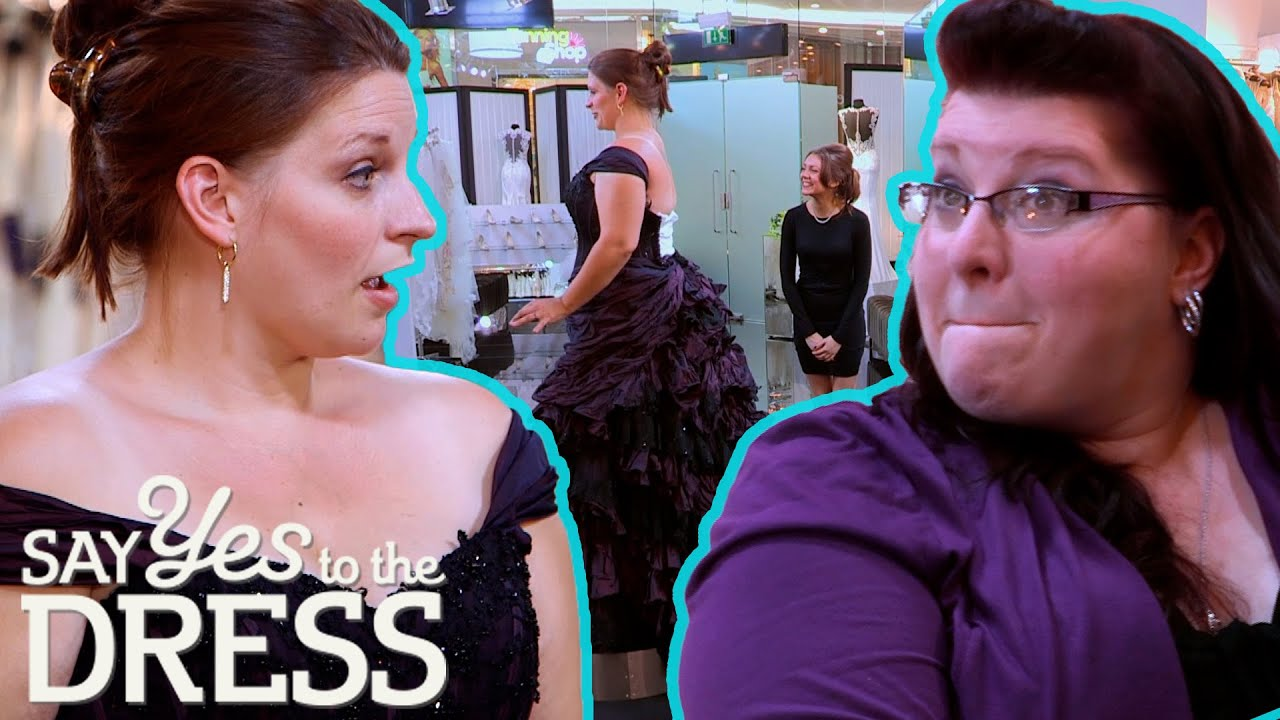 Bride Falls In Love With Purple Steampunk Dress That Is Way Over Budget | Say Yes To The Dress UK