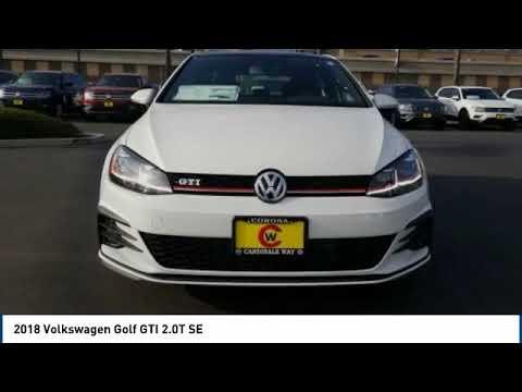 2018 Volkswagen Golf GTI Corona CA V8729