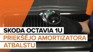 Kā un kad mainīt Amortizatora Putekļu Sargi & Demfers SKODA OCTAVIA (1U2): video pamācības