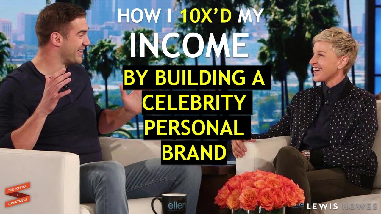 How to Build a Celebrity Personal Brand | Lewis Howes