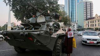 Birmanie : la répression s'accentue, appels au calme des ambassades