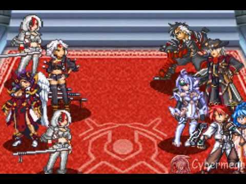 Super robot wars Mugen no frontier Exceed Boss Saya and Hilda 1/2