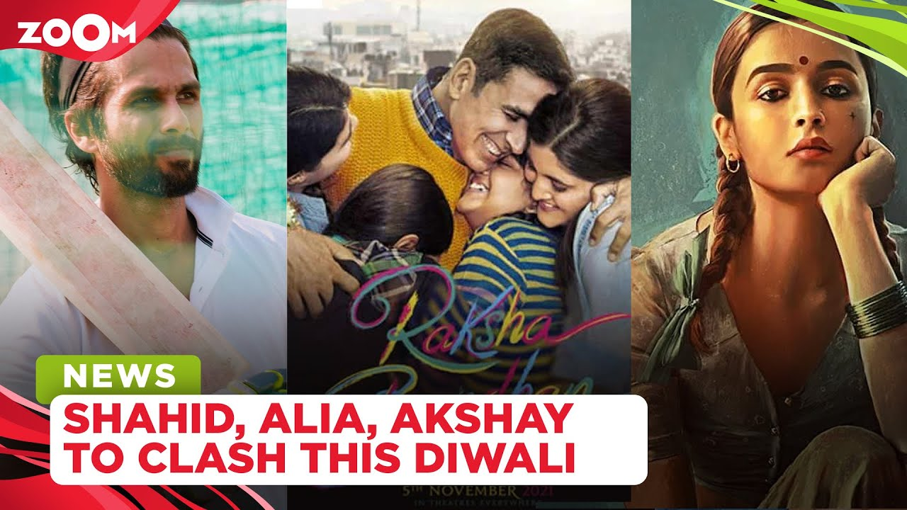 Alia Bhatt, Akshay Kumar and Shahid Kapoor headed for the BIGGEST box-office clash this Diwali
